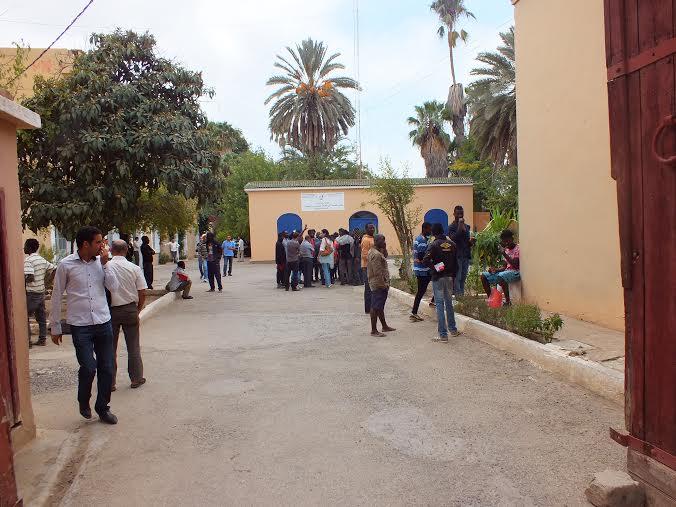 مهاجرون افارقة بتاردانت / المغرب