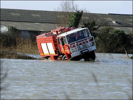فيضانات جنوب فرنسا 2015